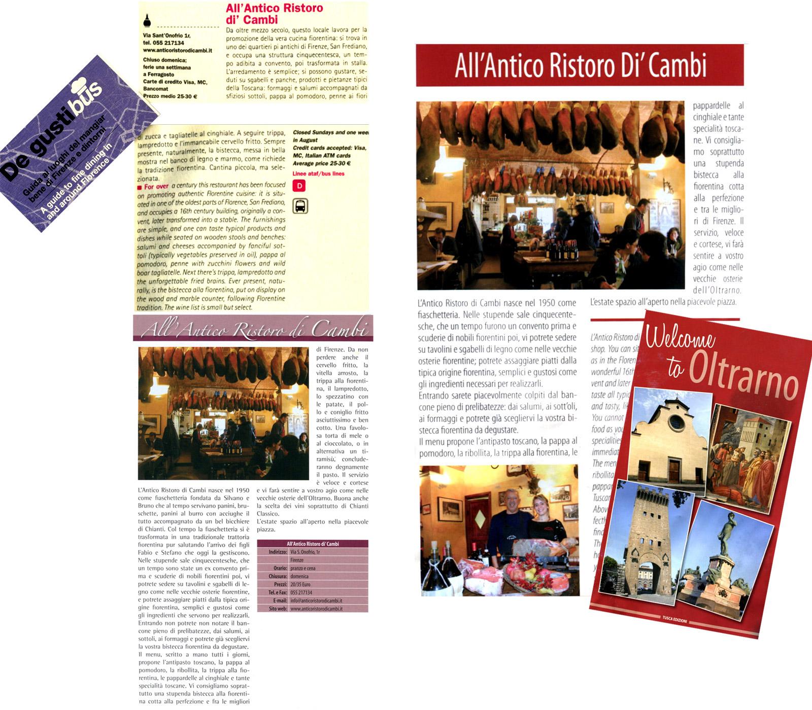 Real Tuscany - Antico Ristoro di\' Cambi